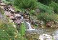 Водный каскад (горный ручей) - водный элемент, часто дополняющий альпийскую горку в ландшафтном дизайне