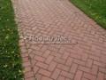 Садовая дорожка из тротуарной плитки (бетонной брусчатки)