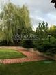 Садовая дорожка из тротуарной плитки (цветная бетонная: розовая, красноватая, кирпичного цвета) - 118