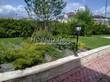 Садовая дорожка из тротуарной плитки (цветная бетонная: розовая, красноватая, кирпичного цвета) - 127