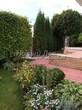 Садовая дорожка из тротуарной плитки (цветная бетонная: розовая, красноватая, кирпичного цвета) - 130