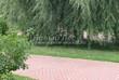 Садовая дорожка из тротуарной плитки (цветная бетонная: розовая, красноватая, кирпичного цвета) - 141