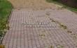 Садовая дорожка из тротуарной плитки (цветная бетонная: розовая, красноватая, кирпичного цвета) - 151