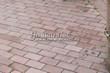 Садовая дорожка из тротуарной плитки (цветная бетонная: розовая, красноватая, кирпичного цвета) - 155
