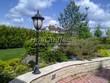 Садовая дорожка из тротуарной плитки (цветная бетонная: розовая, красноватая, кирпичного цвета) - 159