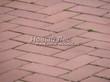 Садовая дорожка из тротуарной плитки (цветная бетонная: розовая, красноватая, кирпичного цвета) - 160