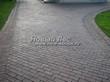 Садовая дорожка из бетона (темная серая тротуарная плитка) - 101