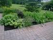 Садовая дорожка из бетона (темная серая тротуарная плитка) - 103