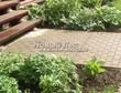 Садовая дорожка из бетона (темная серая тротуарная плитка) - 105
