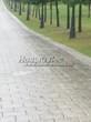 Садовая дорожка из бетона (темная серая тротуарная плитка) - 112
