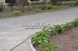 Садовая дорожка из бетона (темная серая тротуарная плитка) - 118