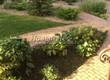 Садовая дорожка из бетона (темная серая тротуарная плитка) - 123