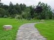 Садовая дорожка из бетона (темная серая тротуарная плитка) - 128