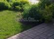Садовая дорожка из бетона (темная серая тротуарная плитка) - 148