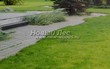 Садовая дорожка из бетона (темная серая тротуарная плитка) - 151