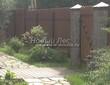 Садовая дорожка из бетона (темная серая тротуарная плитка) - 156
