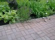Садовая дорожка из бетона (темная серая тротуарная плитка) - 157