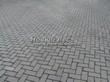 Бетонная садовая дорожка (светлая тротуарная плитка, брусчатка) - 103