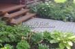 Бетонная садовая дорожка (светлая тротуарная плитка, брусчатка) - 104