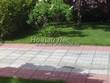 Бетонная садовая дорожка (светлая тротуарная плитка, брусчатка) - 112