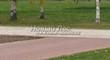 Бетонная садовая дорожка (светлая тротуарная плитка, брусчатка) - 115
