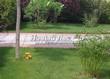 Бетонная садовая дорожка (светлая тротуарная плитка, брусчатка) - 119