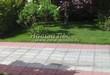 Бетонная садовая дорожка (светлая тротуарная плитка, брусчатка) - 126