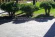 Бетонная садовая дорожка (светлая тротуарная плитка, брусчатка) - 129