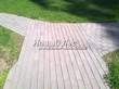 Бетонная садовая дорожка (светлая тротуарная плитка, брусчатка) - 130