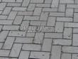 Бетонная садовая дорожка (светлая тротуарная плитка, брусчатка) - 131