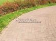 Садовая дорожка из бручатки (бетон, отлив под старину) - 101