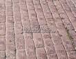 Садовая дорожка из бручатки (бетон, отлив под старину) - 106