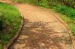 Садовая дорожка из клинкерного кирпича - 103