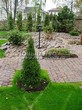 Садовая дорожка из гранитной брусчатки - 107