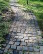 Садовая дорожка из гранитной брусчатки - 109