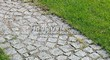 Садовая дорожка из гранитной брусчатки - 111