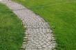 Садовая дорожка из гранитной брусчатки - 122