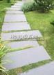 Садовая дорожка из гранита (гранитные плиты, слэбы) - 117