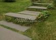 Садовая дорожка из гранита (гранитные плиты, слэбы) - 123
