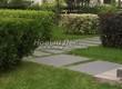 Садовая дорожка из гранита (гранитные плиты, слэбы) - 132
