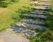 Садовая дорожка из гранита (гранитные плиты, слэбы) - 136