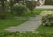 Садовая дорожка из гранита (гранитные плиты, слэбы) - 137
