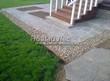Садовая дорожка из плитняка (швы заделаны цементом) - 104