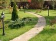 Садовая дорожка из плитняка (швы заделаны цементом) - 111