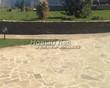 Садовая дорожка из плитняка (швы заделаны цементом) - 113