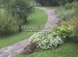 Садовая дорожка из плитняка (швы заделаны цементом) - 119