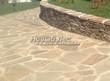 Садовая дорожка из плитняка (швы заделаны цементом) - 127