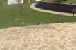 Садовая дорожка из плитняка (швы заделаны цементом) - 135