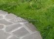 Садовая дорожка из плитняка (швы заделаны цементом) - 144