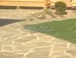 Садовая дорожка из плитняка (швы заделаны цементом) - 145